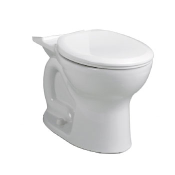 American Standard 3517D.101.021 Cadet Pro Round Toilet Bowl Only - Bone (Pictured in White)