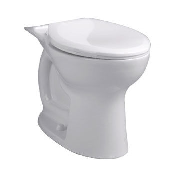 American Standard 3517F.101.020 Cadet Pro Compact Right Height Elongated Toilet Bowl Only - White