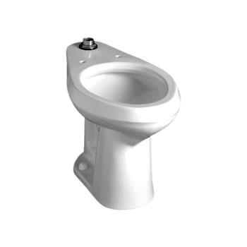 American Standard 3541.001US Colorado EL ADA Floor Mount Fushometer Toilet - White