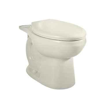 American Standard 3705.216.222 H2Option Dual Flush Right Height Elongated Toilet Bowl Only - Linen