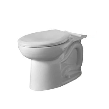American Standard 3717C.001.020 Cadet 3 FloWise Elongated Toilet Bowl Only - White