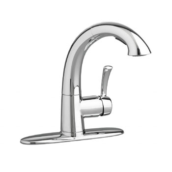 American Standard 4433.150.002 Quince High Arc Kitchen Faucet with Pullout Spray - Chrome