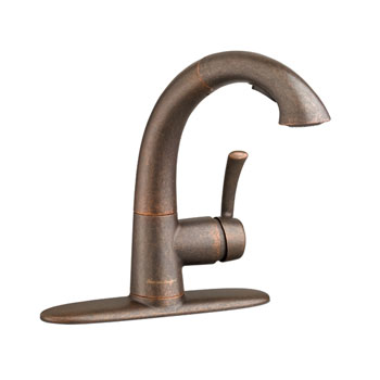 American Standard 4433.150.224 Quince High Arc Kitchen Faucet with Pullout Spray - Oil Rubbed Bronze