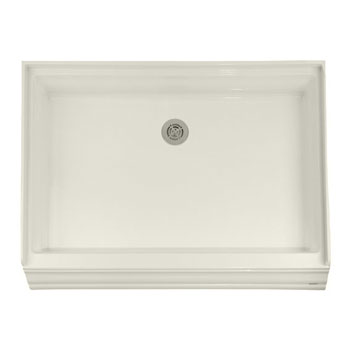 American Standard 4834.STTS Town Square Single Threshold Shower Base - Linen