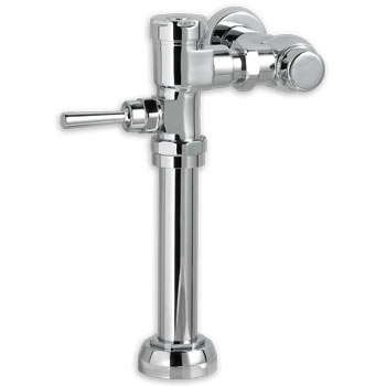 American Standard 6045.051.002 Exposed Manual Top Spud Urinal 0.5 gpf Flush Valve - Chrome