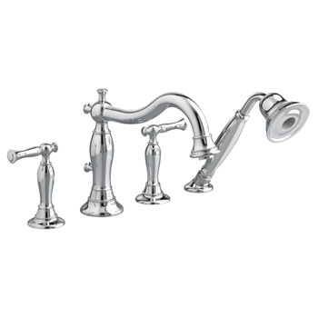 American Standard 7440.901.002 Quentin Deck Mount Tub Filler with Personal Shower - Chrome