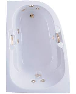 Aquatic AI6042RC Luxury Right Cape Constantine - White