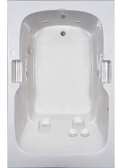 Aquatic AI6048R Luxury Del Ray Jr. - White