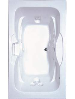 Aquatic AI7142R Luxury Clearwater - White