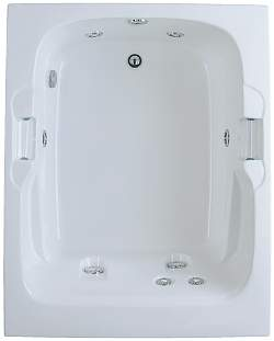 Aquatic AI7248R Luxury Del Ray - White
