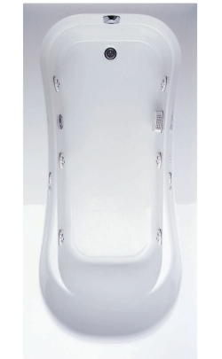 Aquatic AIIS7236LB Builder Select Collection Coronado - White