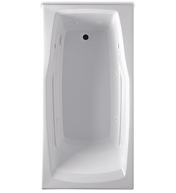 Aquatic AISE6030B Builder Select Collection Seabrook - White