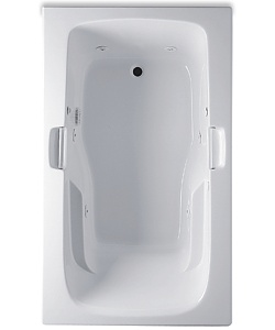 Aquatic AITR6036B Builder Select Collection Trinidad - White