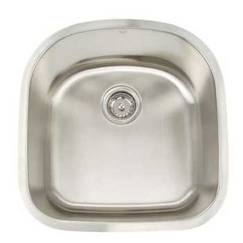 Artisan AR2120-D9 Premium Undermount Single Bowl Sink - Stainless Steel