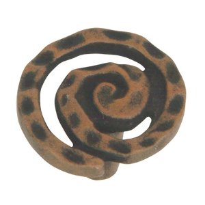 Atlas Homewares 2140-R Signature Scroll Knob - Rust