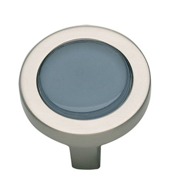 Atlas Homewares 229-BLU/BRN Spa Round Knob - Brushed Nickel