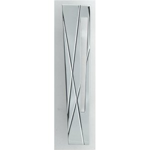 Atlas Homewares 253L-CH The Moderns Collection Modernist Pull Left - Polished Chrome