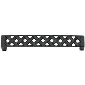 Atlas Homewares 311-BL Lattice Collection Large Pull - Black