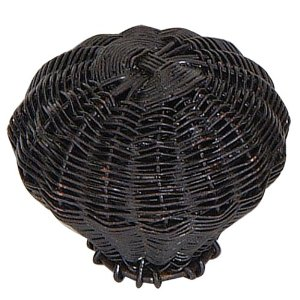 Atlas Homewares 3120 Hamptons Collections Small Wire Basket Knob - Aged Bronze