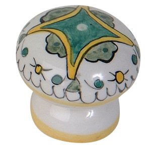 Atlas Homewares 3160-04 Tuscany Collection Buoncovento Knob - Ceramic