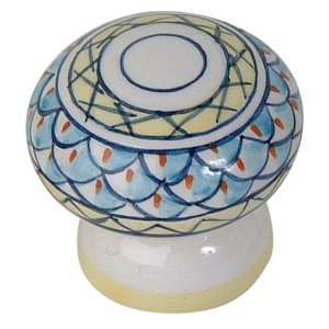 Atlas Homewares 3160-06 Tuscany Collection Luca Knob - Ceramic