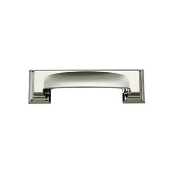 Atlas Homewares 339-PN Sutton Place Bin Cup Pull - Polished Nickel