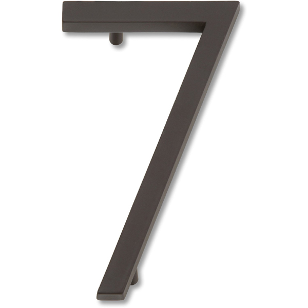 Atlas Homewares AVN7-O Modern Avalon 4.5-Inch No. 7 House Number - Oil Rubbed Bronze