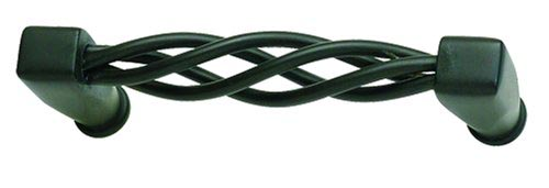 Atlas Homewares 30031-O 3-1/2-Inch Twisted Wire Pull - Oil Rubbed Bronze (Pictured in Aged Bronze)