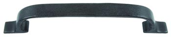 Atlas Homewares 3178-O 8-Inch Hamptons Large Expresso Leather Pull - Oil Rubbed Bronze