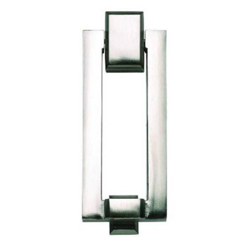 Atlas Homewares DK644-BRN Mission Door Knocker - Brushed Nickel