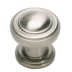Atlas Homewares 313-BRN Bronte 1.1 inch  Round Knob - Brushed Nickel