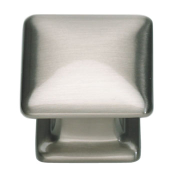 Atlas Homewares 322-BRN Alcott 1.25 inch  Square Cabinet Knob - Brushed Nickel