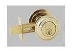 Baldwin 98232.150 Double Cylinder Deadbolt - Satin Nickel (Pictured in Polished Brass)