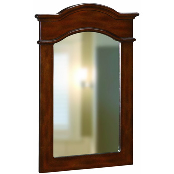 Belle Foret BF80053 Portrait Mirror - Dark Cherry