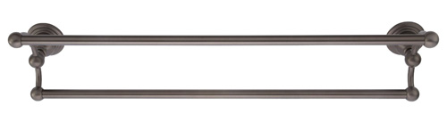 Belle Foret BFNDTBORB 24-Inch Double Towel Bar - Oil Rubbed Bronze