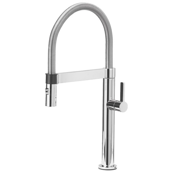 Blanco 441624 Culina Mini 1.8 GPM Kitchen Faucet with Pull Down Spray - Chrome