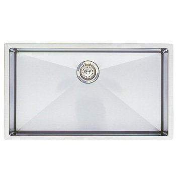 Blanco 515823 16-Inch Precision R10 Large Equal Double Bowl Undermount Sink - Stainless Steel