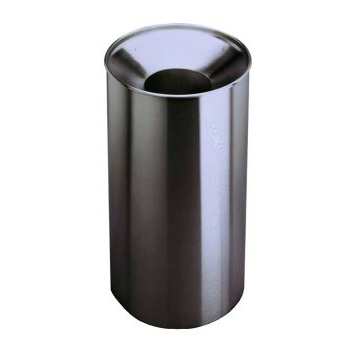 Bobrick B-2400 Floor-Standing Large Capacity Waste Receptacle - Satin Stainless