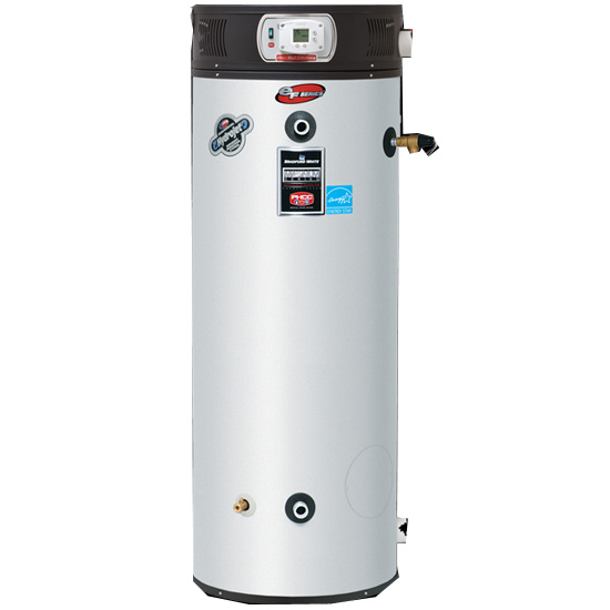 Bradford White EF-100T-250E-3N 100 Gallon 250,000 BTU/Hr. Commercial Natural Gas Water Heater