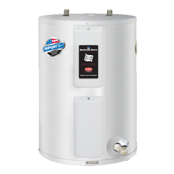 Bradford White RE2-40L6 38 Gallon Residential Electric Lowboy Water Heater