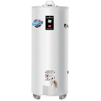Bradford White RG275H6N 75 Gallon Residential Natural Gas Atmospheric Vent High Input Gas Water Heater