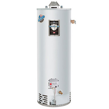 Bradford White RG150T6X 50 Gallon 34,000 BTU Defender Safety System Atmospheric Vent Energy Saver Residential Water Heater (Propane)