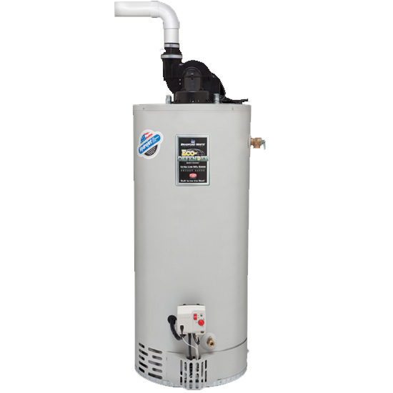 Bradford White URG2PV50T6N 50 Gallon Residential Natural Gas Ultra Low NOx Power Vent (TTW) Water Heater