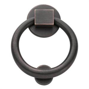 Baldwin 0195.102 Ring Door Knocker - Oil Rubbed Bronze