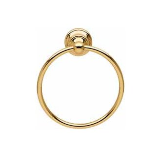 Baldwin 3504.030 Edgewater Towel Ring - Polished Brass