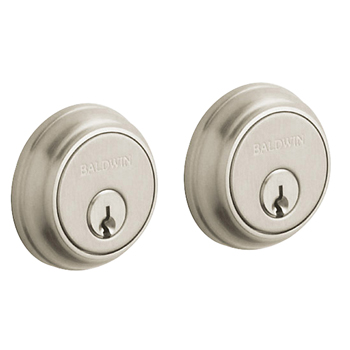 Baldwin 8021.150 Traditional Double Cylinder Deadbolt - Satin Nickel