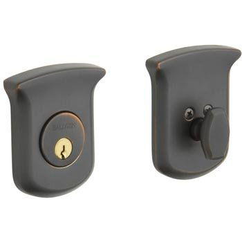 Baldwin 8213.112 Tahoe Single Cylinder Deadbolt - Venetian Bronze