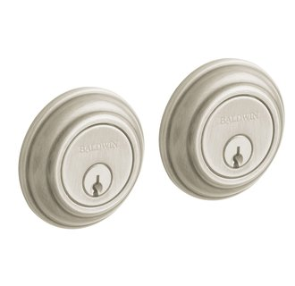 Baldwin 8232.150 Traditional Style Double Cylinder Deadbolt - Satin Nickel
