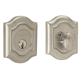 Baldwin 8237.150 Bethpage Single Cylinder Deadbolt - Satin Nickel