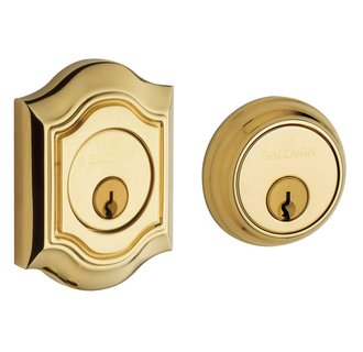 Baldwin 8238.003 Bethpage Double Cylinder Deadbolt - Lifetime Polished Brass